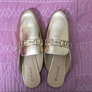 Shoes - Rose gold mules